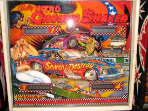 Nitro Ground Shaker Bally Pinball